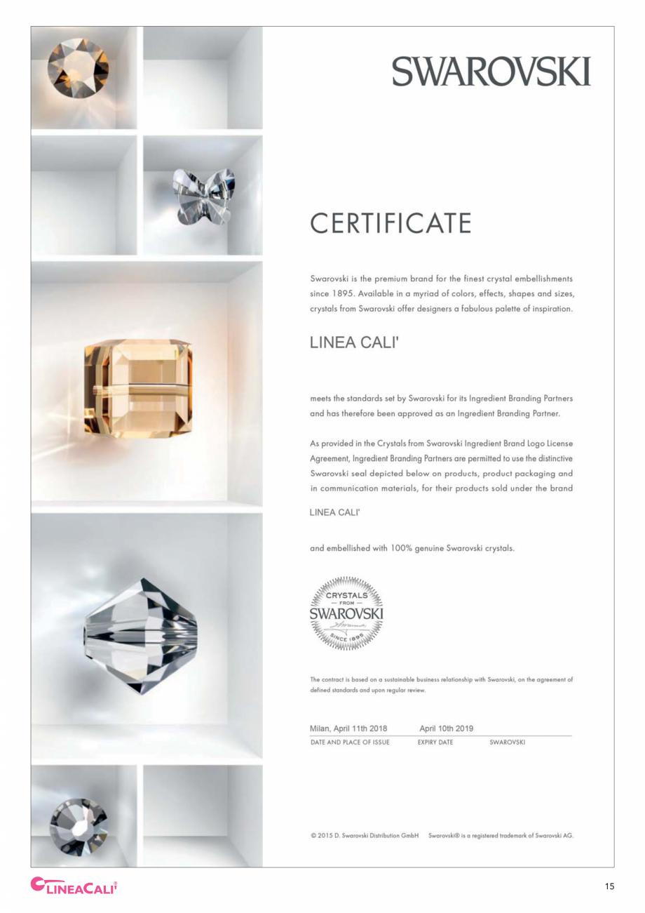 Pagina 17 - Catalog Linea CALI 2019 DALI BUSINESS Catalog, brosura Engleza, Italiana ys and all the ...