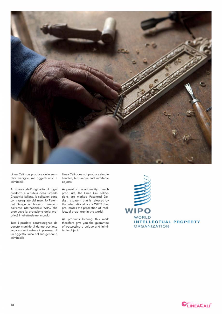 Pagina 20 - Catalog Linea CALI 2019 DALI BUSINESS Catalog, brosura Engleza, Italiana move the handle...