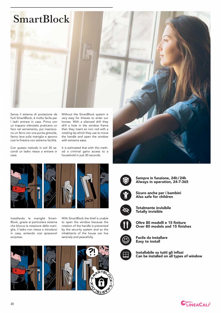 Pagina 22 - Catalog Linea CALI 2019 DALI BUSINESS Catalog, brosura Engleza, Italiana andle that is...