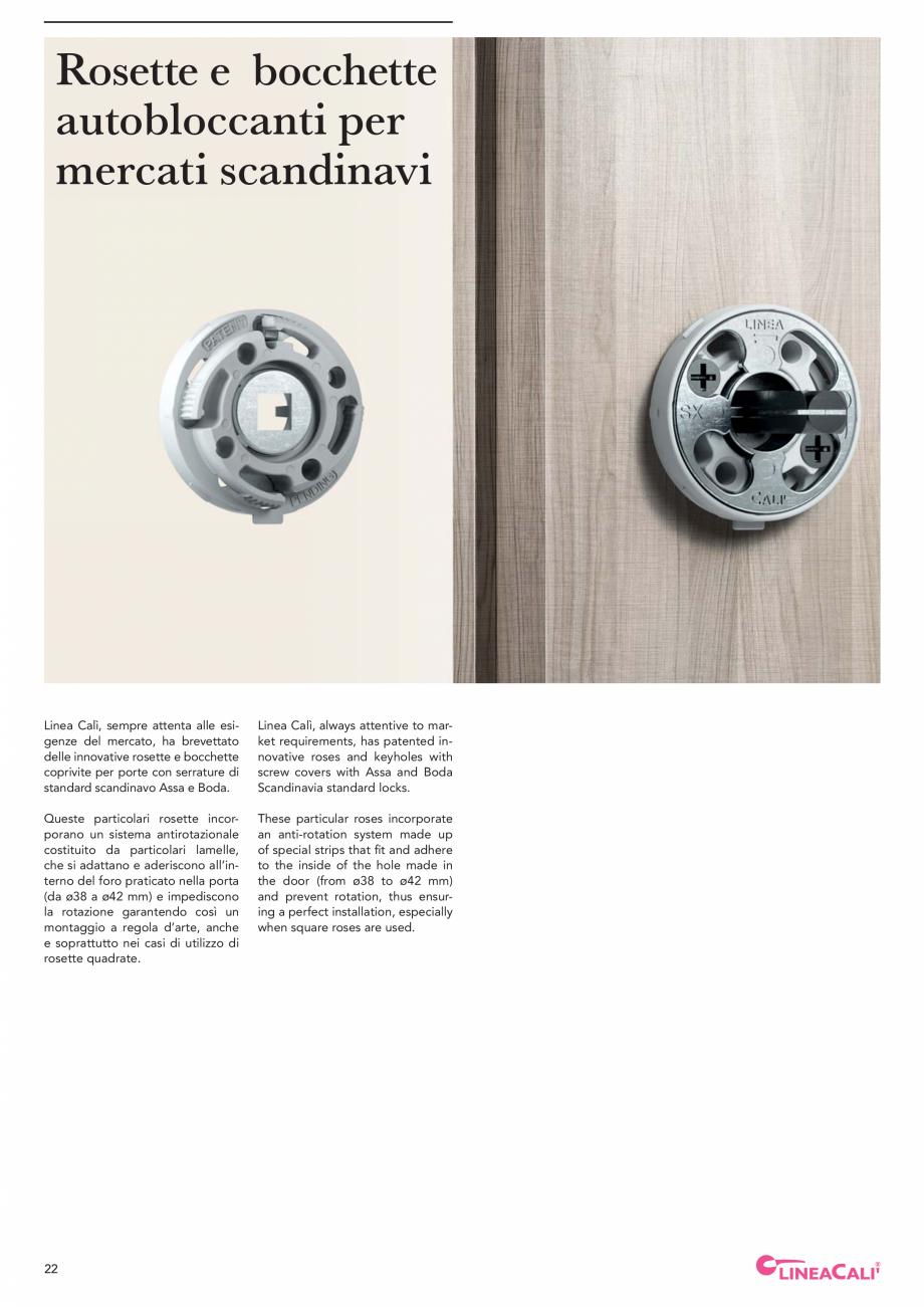 Pagina 24 - Catalog Linea CALI 2019 DALI BUSINESS Catalog, brosura Engleza, Italiana tive ultrarapid...