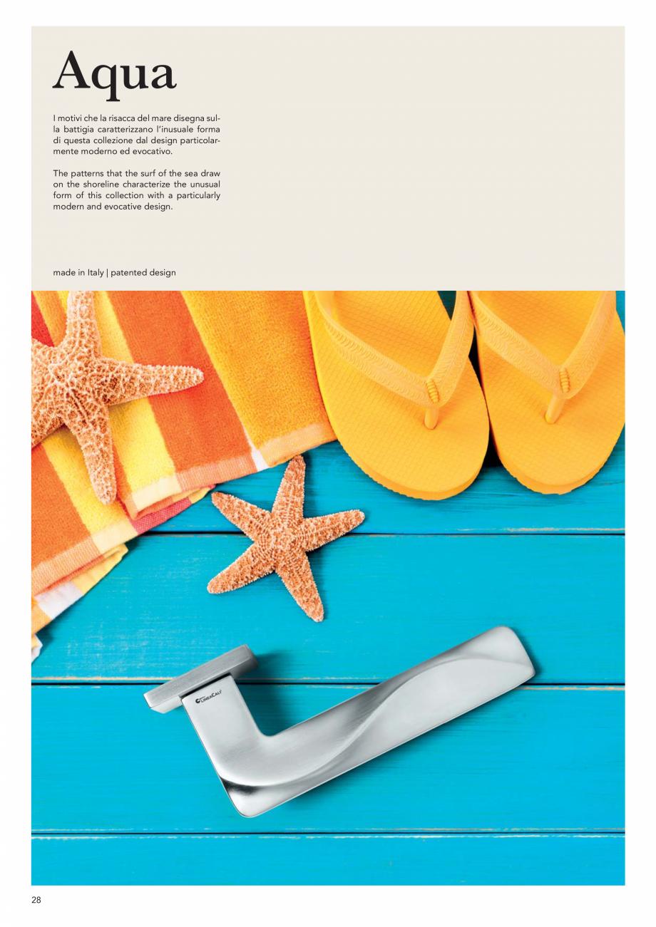 Pagina 30 - Catalog Linea CALI 2019 DALI BUSINESS Catalog, brosura Engleza, Italiana rome CR  ottone...