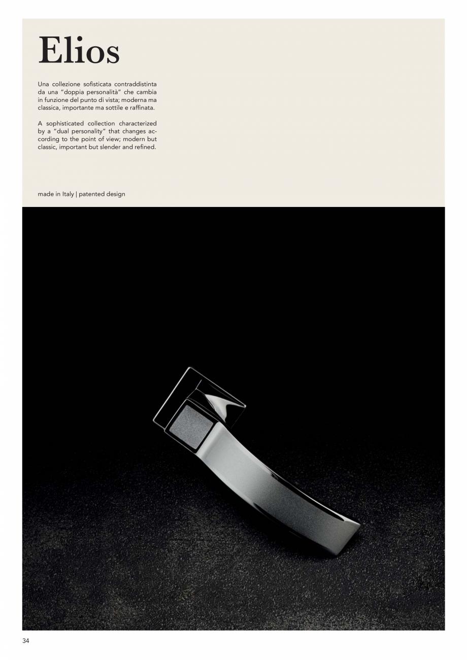 Pagina 36 - Catalog Linea CALI 2019 DALI BUSINESS Catalog, brosura Engleza, Italiana  undefinable...