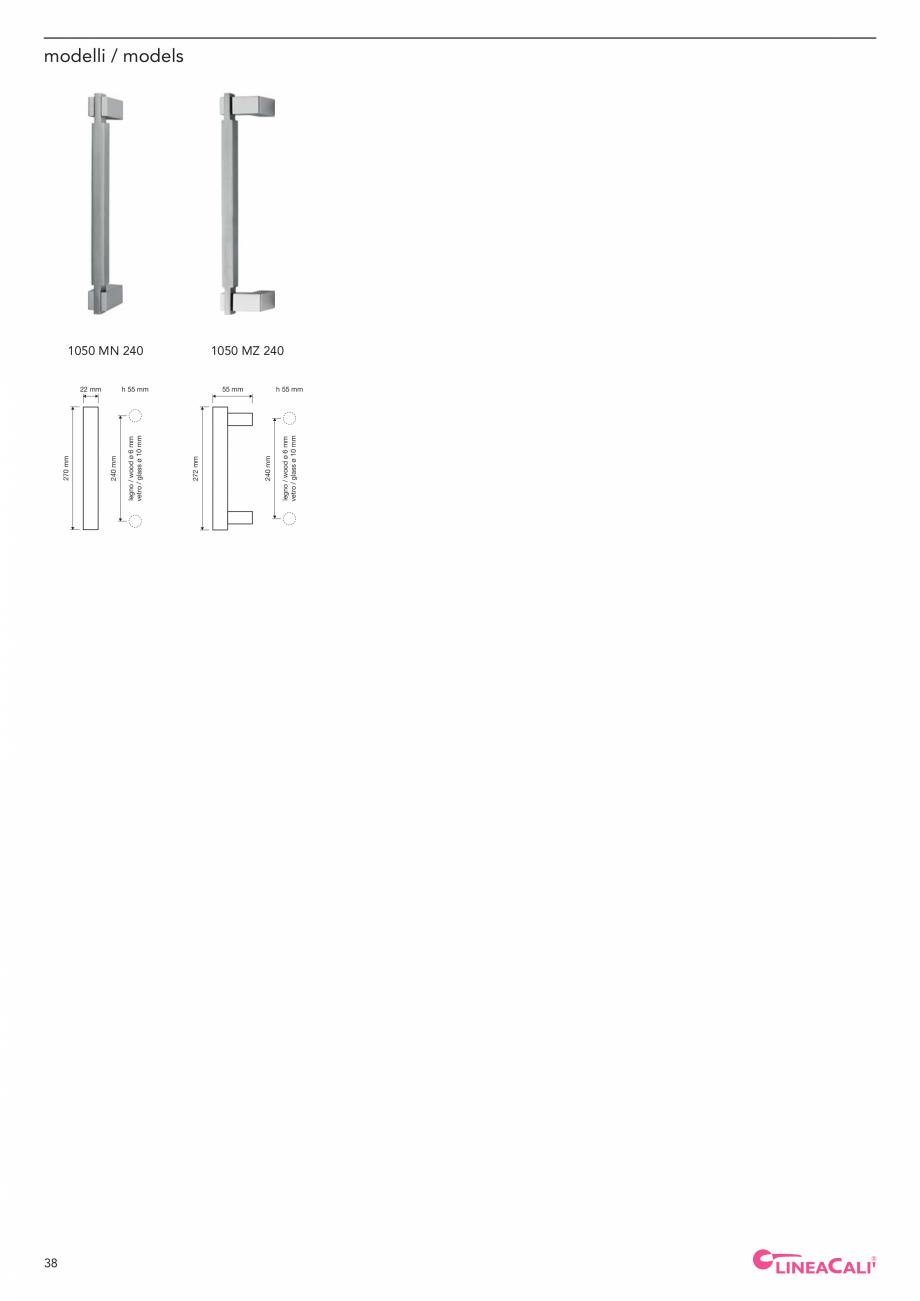 Pagina 40 - Catalog Linea CALI 2019 DALI BUSINESS Catalog, brosura Engleza, Italiana ned style. ...
