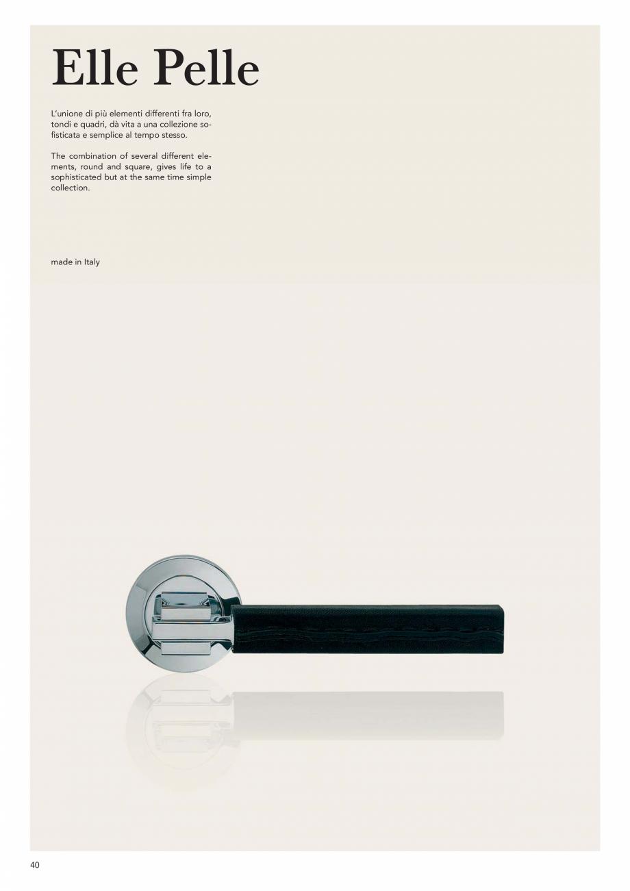 Pagina 42 - Catalog Linea CALI 2019 DALI BUSINESS Catalog, brosura Engleza, Italiana ack + polished ...