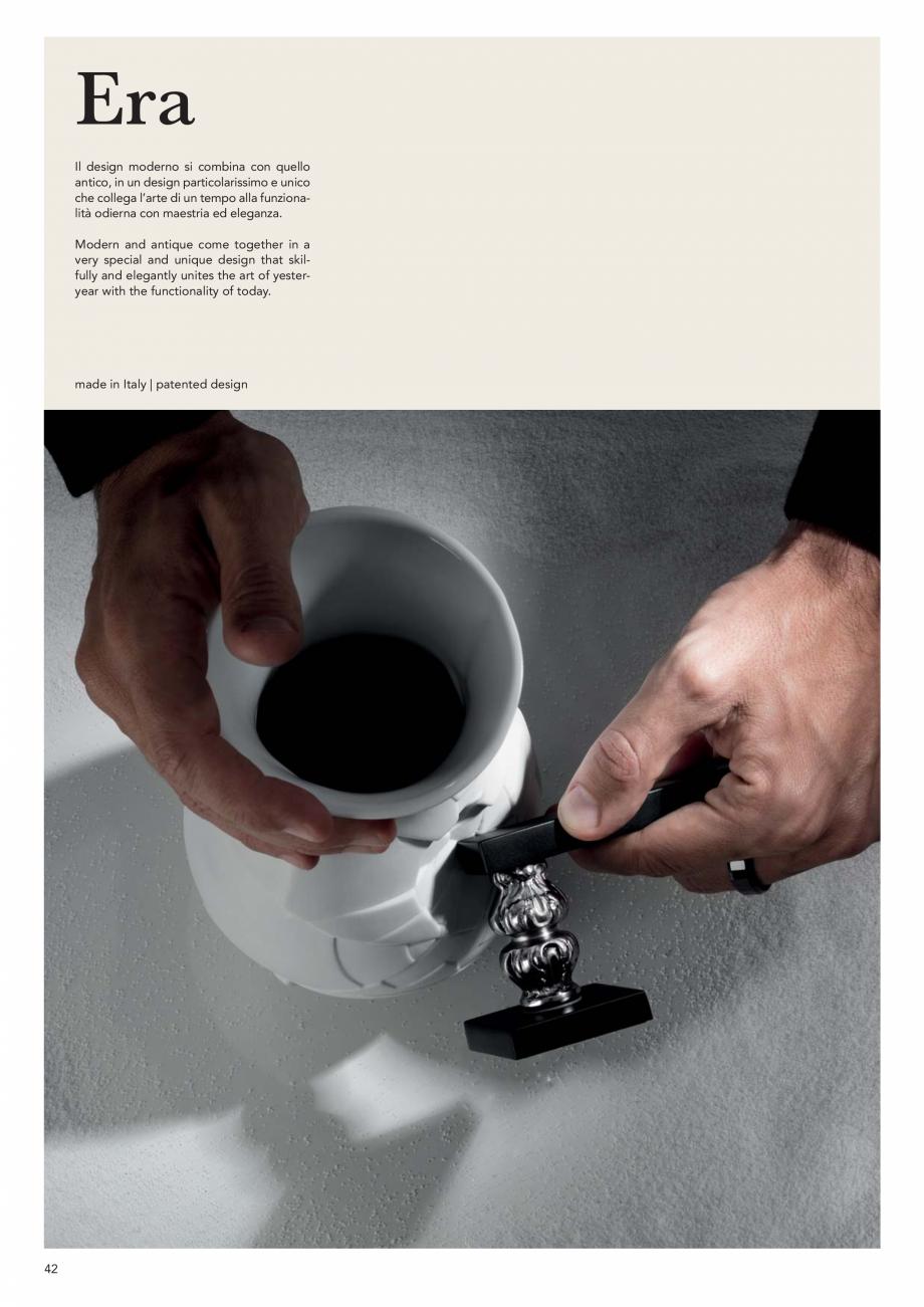 Pagina 44 - Catalog Linea CALI 2019 DALI BUSINESS Catalog, brosura Engleza, Italiana   oro zecchino ...