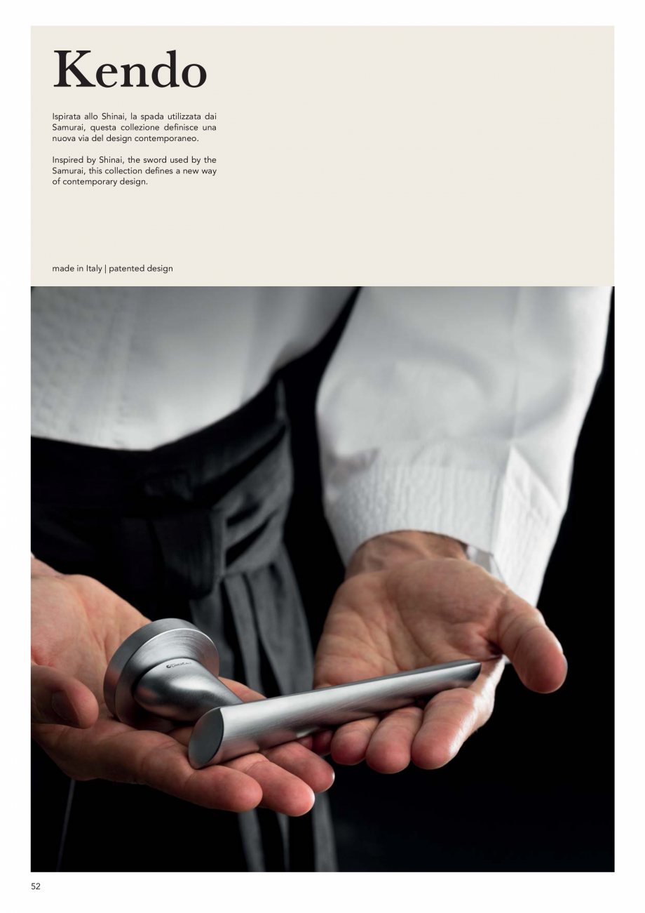 Pagina 54 - Catalog Linea CALI 2019 DALI BUSINESS Catalog, brosura Engleza, Italiana Italy  108 ...