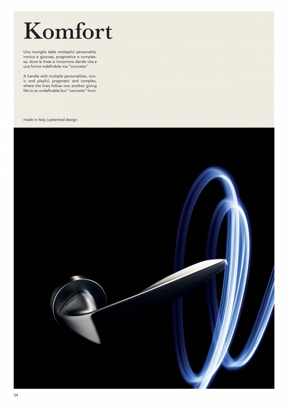 Pagina 56 - Catalog Linea CALI 2019 DALI BUSINESS Catalog, brosura Engleza, Italiana s AN  ferro...