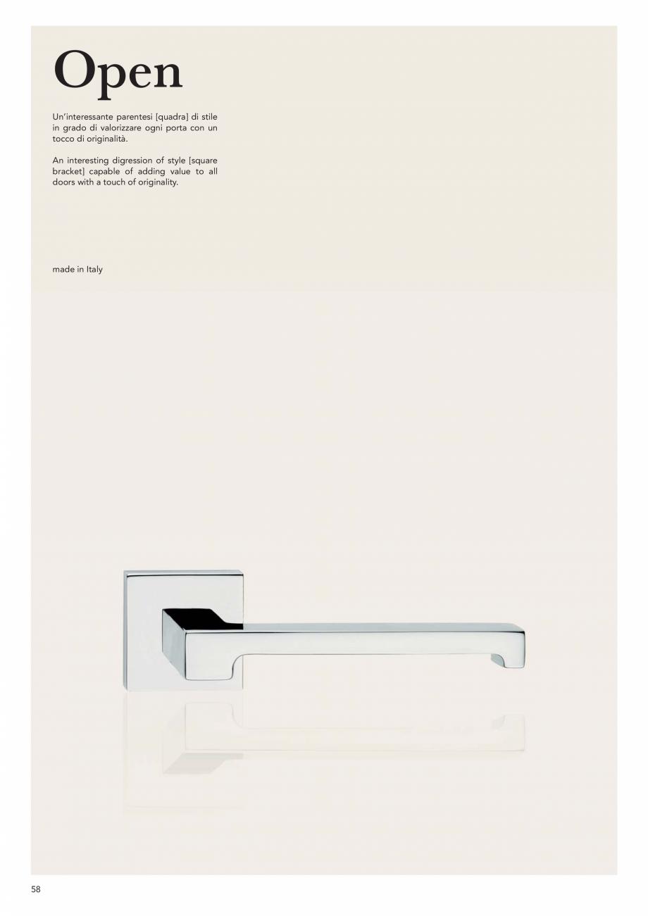 Pagina 60 - Catalog Linea CALI 2019 DALI BUSINESS Catalog, brosura Engleza, Italiana ara ed evidente...