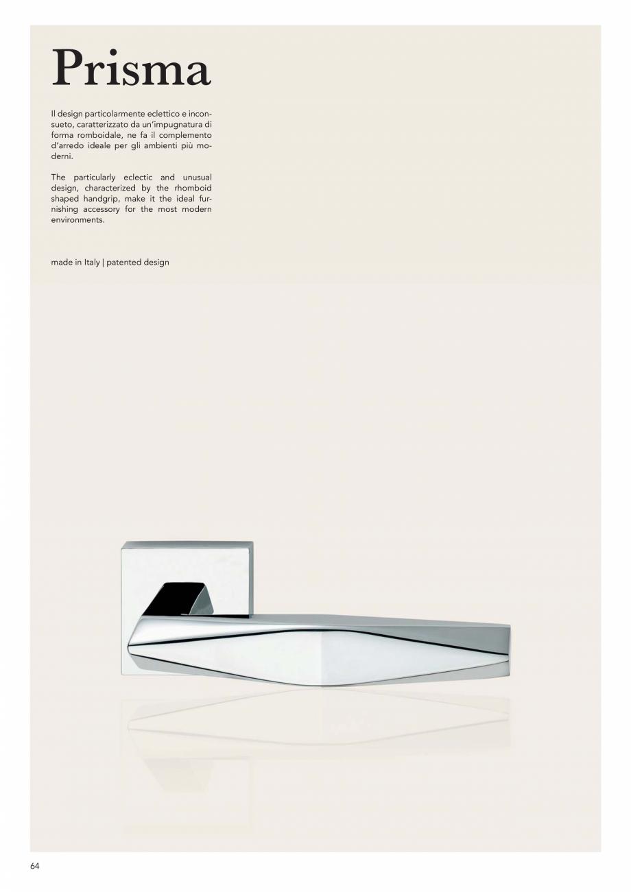 Pagina 66 - Catalog Linea CALI 2019 DALI BUSINESS Catalog, brosura Engleza, Italiana 50 mm  50 mm ...