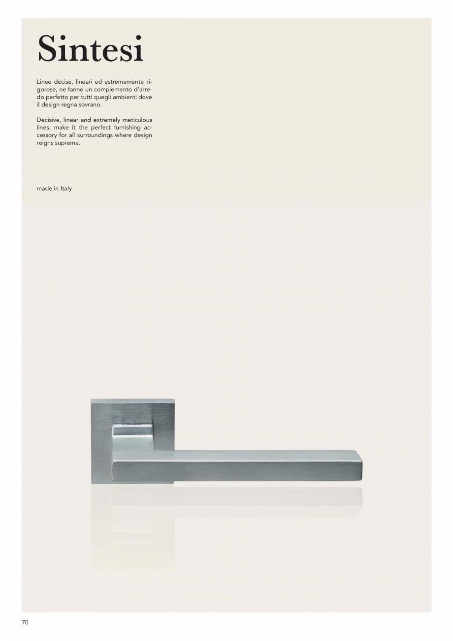 Pagina 72 - Catalog Linea CALI 2019 DALI BUSINESS Catalog, brosura Engleza, Italiana xtremely firm...
