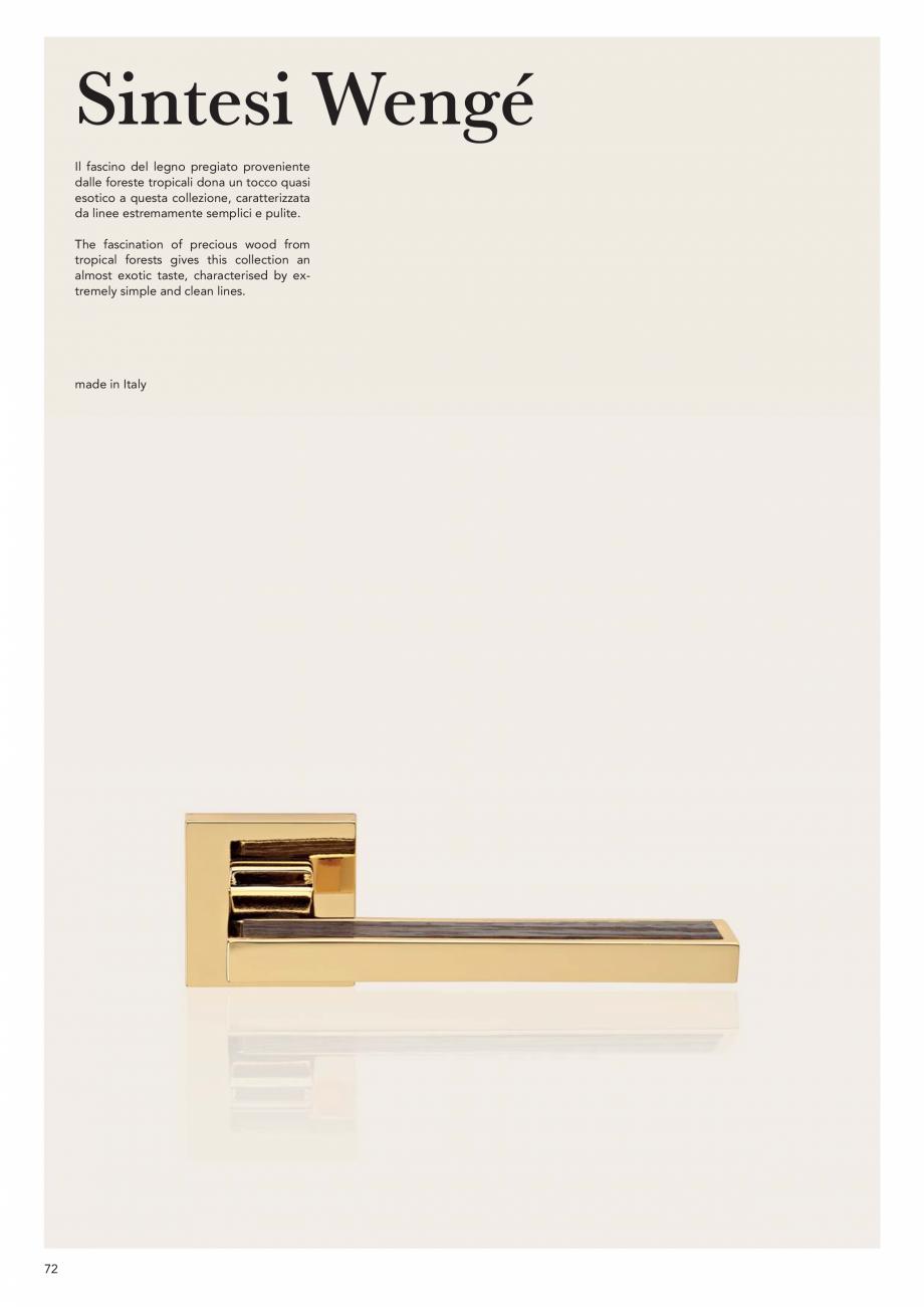 Pagina 74 - Catalog Linea CALI 2019 DALI BUSINESS Catalog, brosura Engleza, Italiana e con le sue...