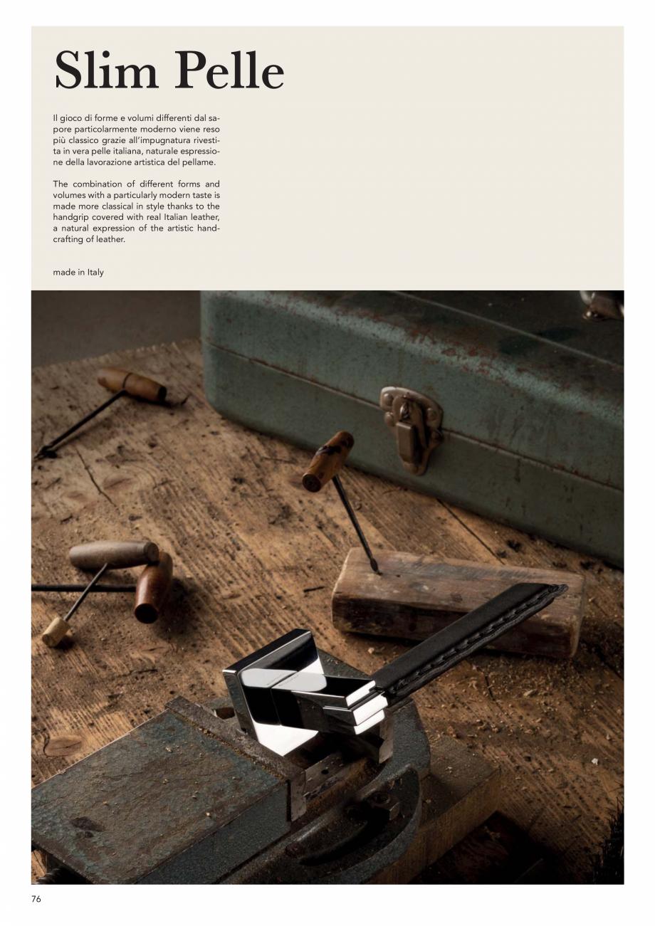 Pagina 78 - Catalog Linea CALI 2019 DALI BUSINESS Catalog, brosura Engleza, Italiana   oro zecchino ...