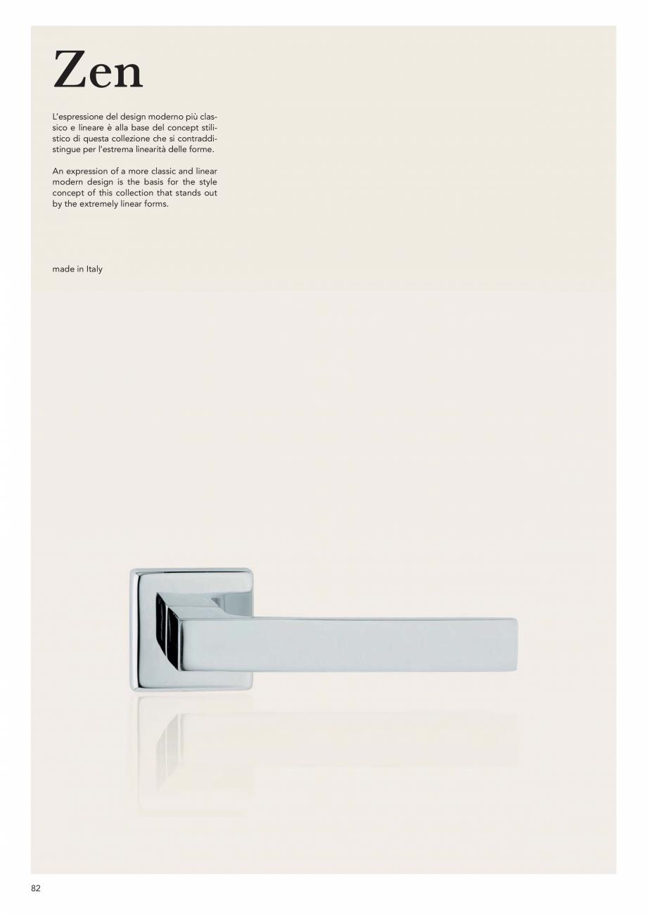 Pagina 84 - Catalog Linea CALI 2019 DALI BUSINESS Catalog, brosura Engleza, Italiana hiara...