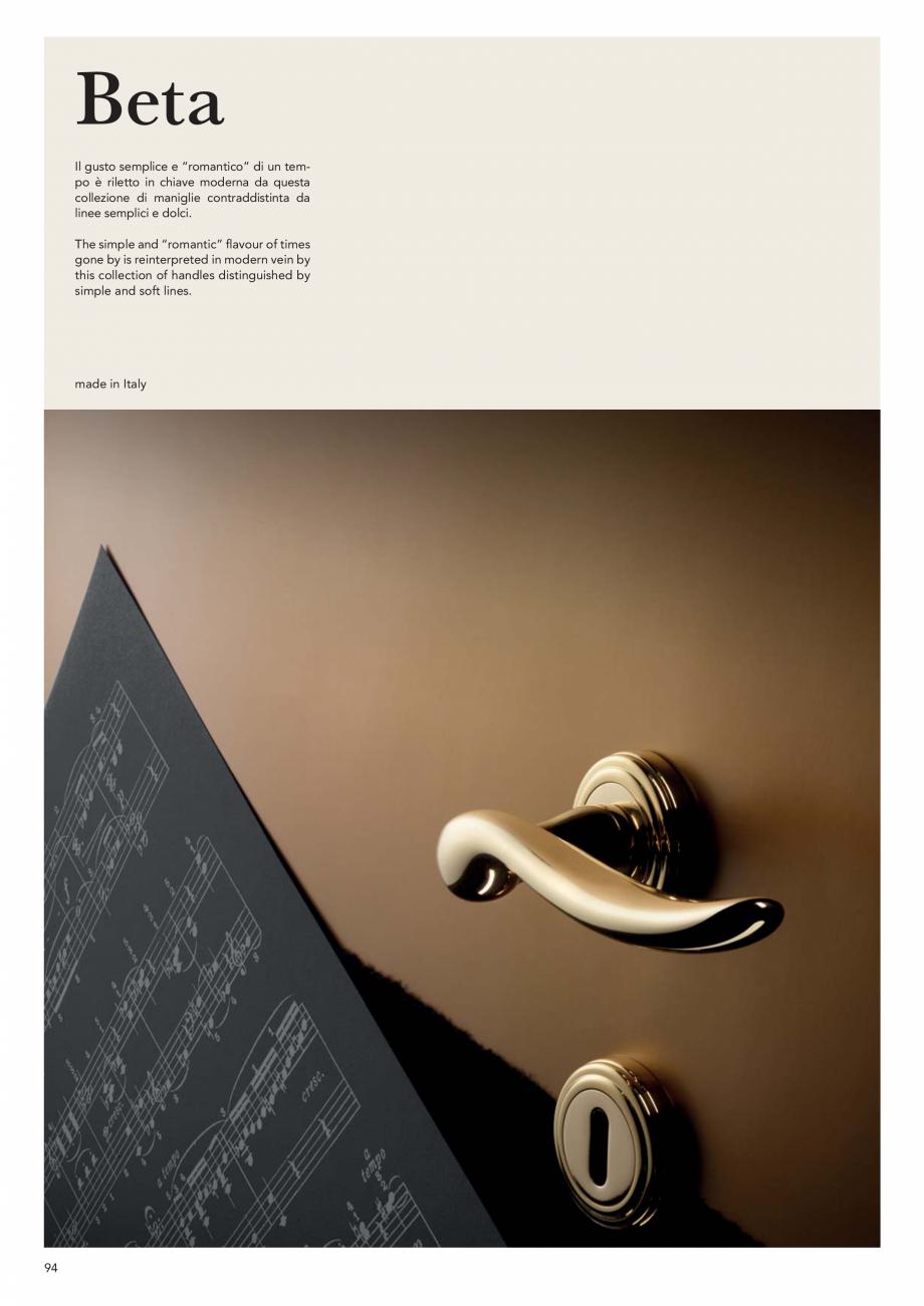 Pagina 96 - Catalog Linea CALI 2019 DALI BUSINESS Catalog, brosura Engleza, Italiana sh  -  262 ...
