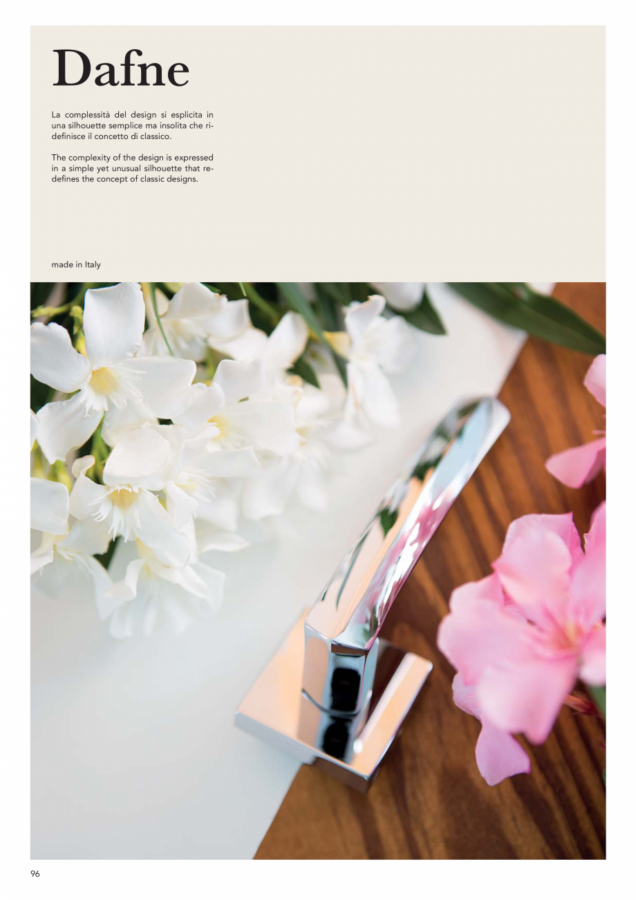 Pagina 98 - Catalog Linea CALI 2019 DALI BUSINESS Catalog, brosura Engleza, Italiana ta interamente ...