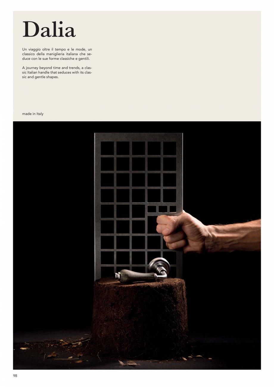 Pagina 100 - Catalog Linea CALI 2019 DALI BUSINESS Catalog, brosura Engleza, Italiana   33 mm  156...