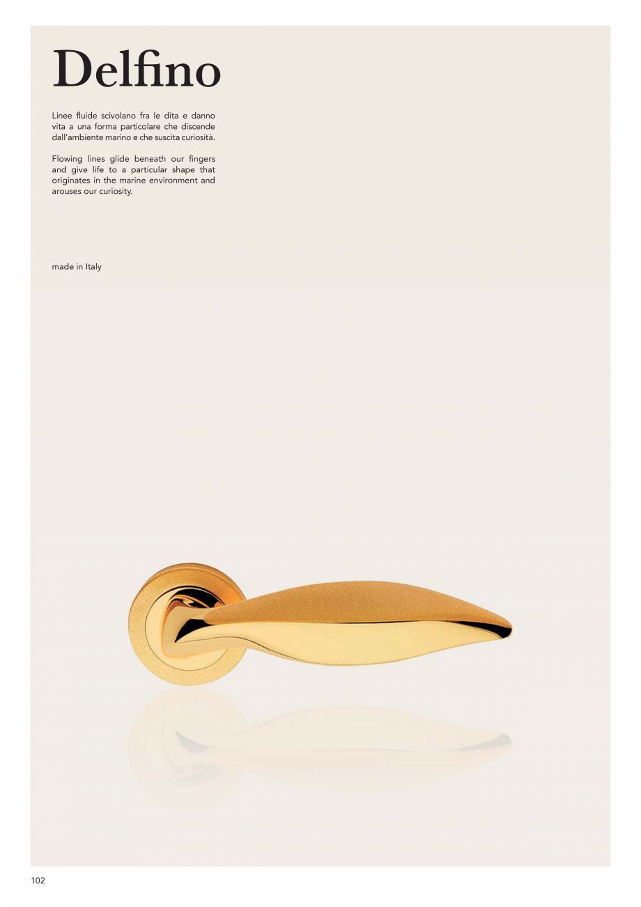 Pagina 104 - Catalog Linea CALI 2019 DALI BUSINESS Catalog, brosura Engleza, Italiana 9 PL  175 mm  ...