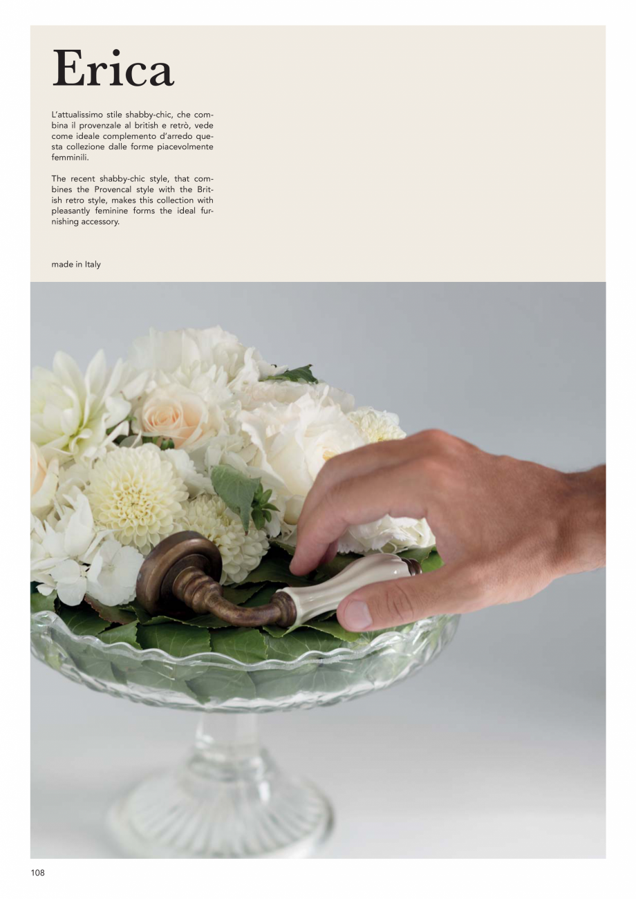 Pagina 110 - Catalog Linea CALI 2019 DALI BUSINESS Catalog, brosura Engleza, Italiana azie...