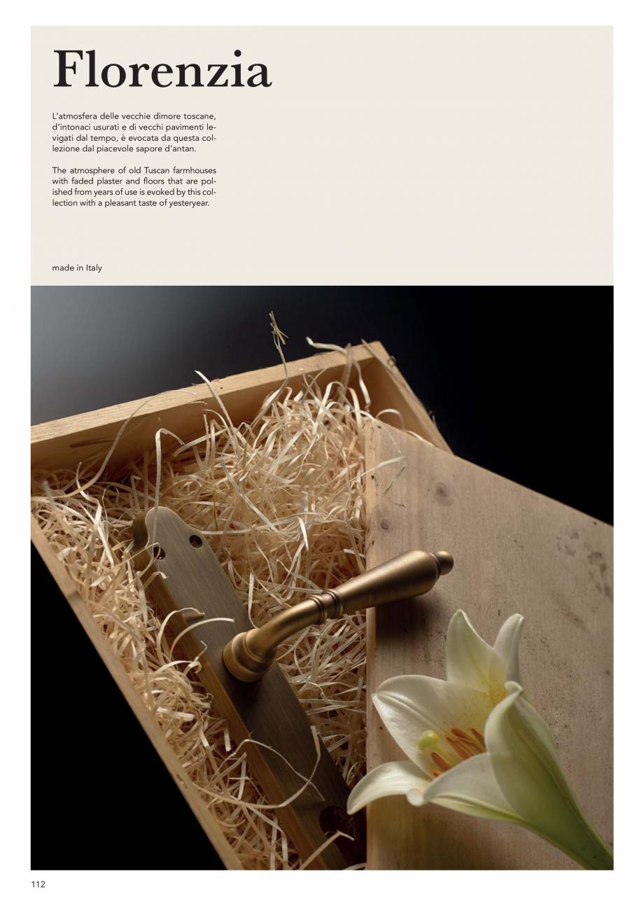 Pagina 114 - Catalog Linea CALI 2019 DALI BUSINESS Catalog, brosura Engleza, Italiana  wood ø 8 mm ...