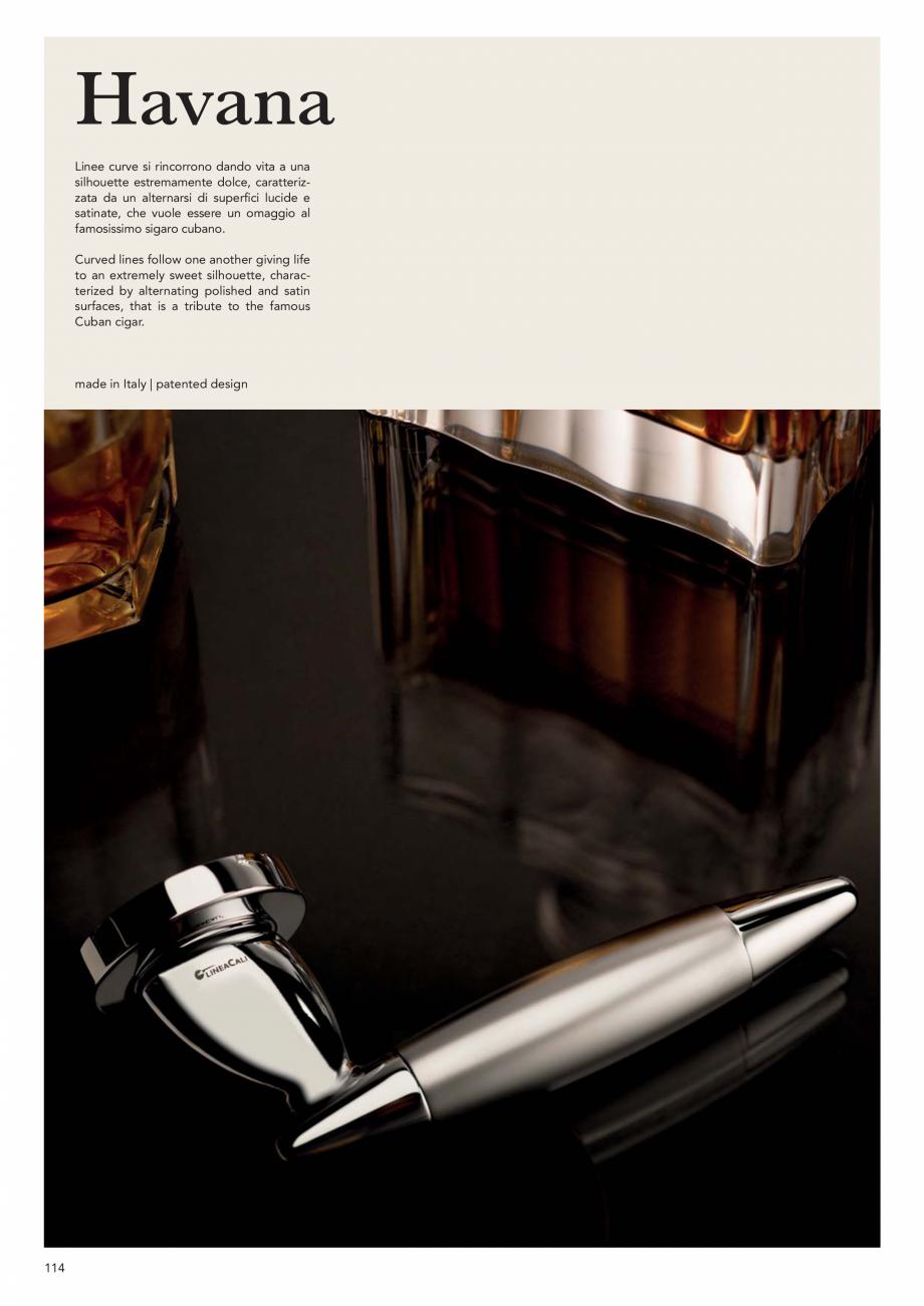 Pagina 116 - Catalog Linea CALI 2019 DALI BUSINESS Catalog, brosura Engleza, Italiana 17 mm  MC ...
