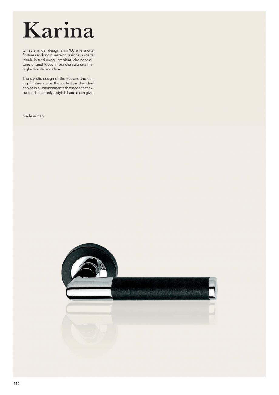 Pagina 118 - Catalog Linea CALI 2019 DALI BUSINESS Catalog, brosura Engleza, Italiana etro / glass...