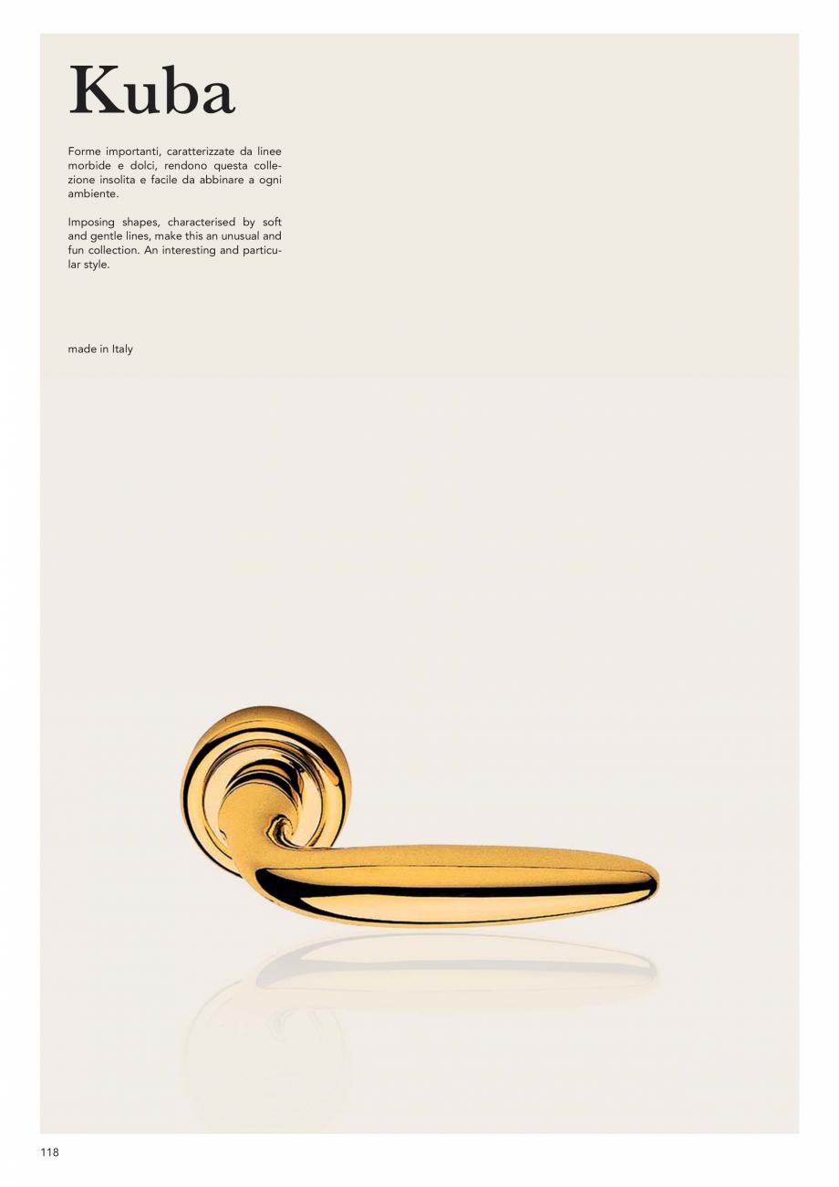 Pagina 120 - Catalog Linea CALI 2019 DALI BUSINESS Catalog, brosura Engleza, Italiana rassi...