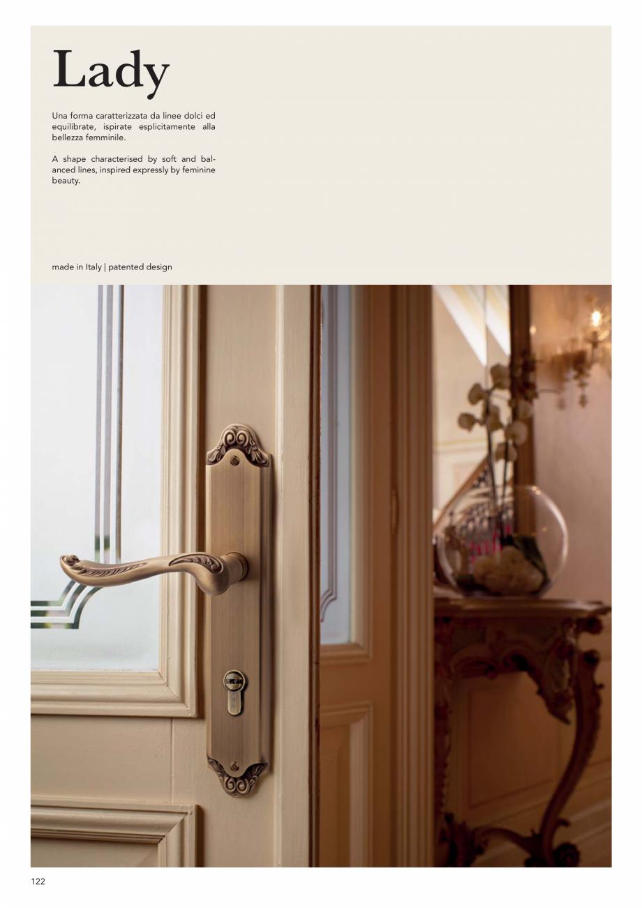 Pagina 124 - Catalog Linea CALI 2019 DALI BUSINESS Catalog, brosura Engleza, Italiana M  355 mm  306...