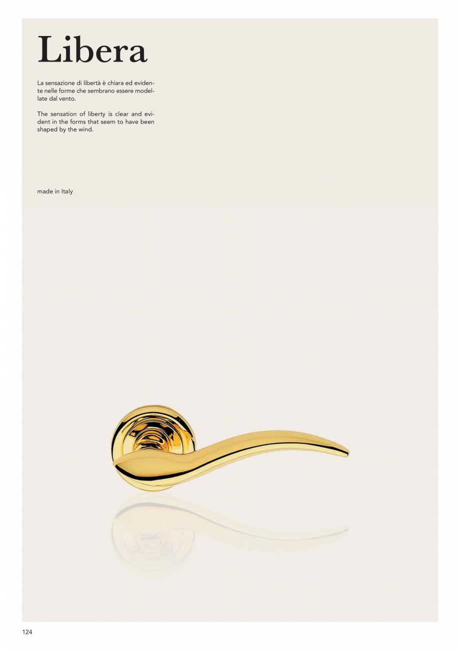 Pagina 126 - Catalog Linea CALI 2019 DALI BUSINESS Catalog, brosura Engleza, Italiana  | 1555 PT ...