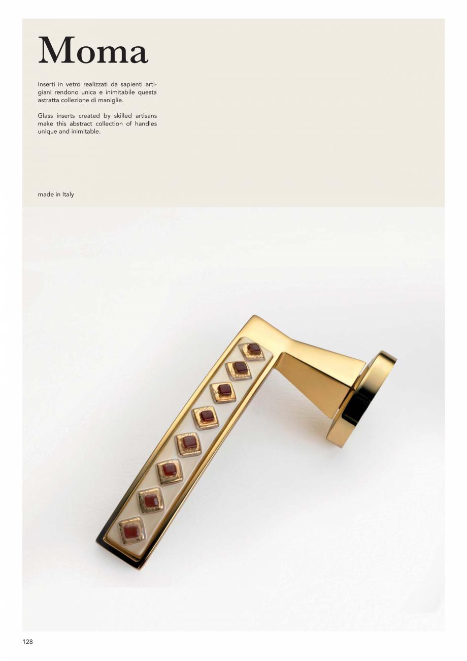 Pagina 130 - Catalog Linea CALI 2019 DALI BUSINESS Catalog, brosura Engleza, Italiana   113 CV  115 ...