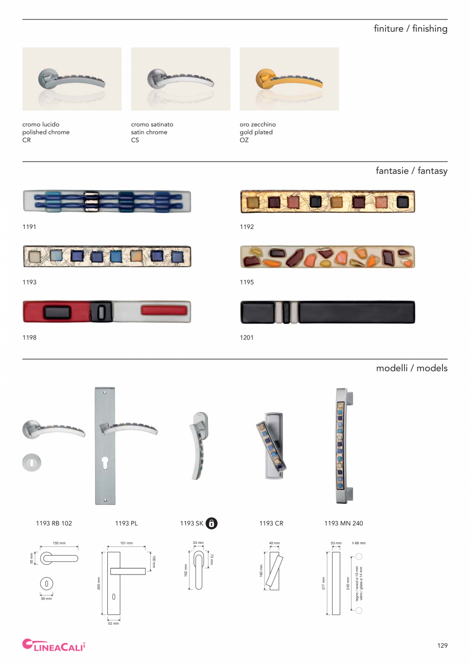 Pagina 131 - Catalog Linea CALI 2019 DALI BUSINESS Catalog, brosura Engleza, Italiana  Reflex | 1156...