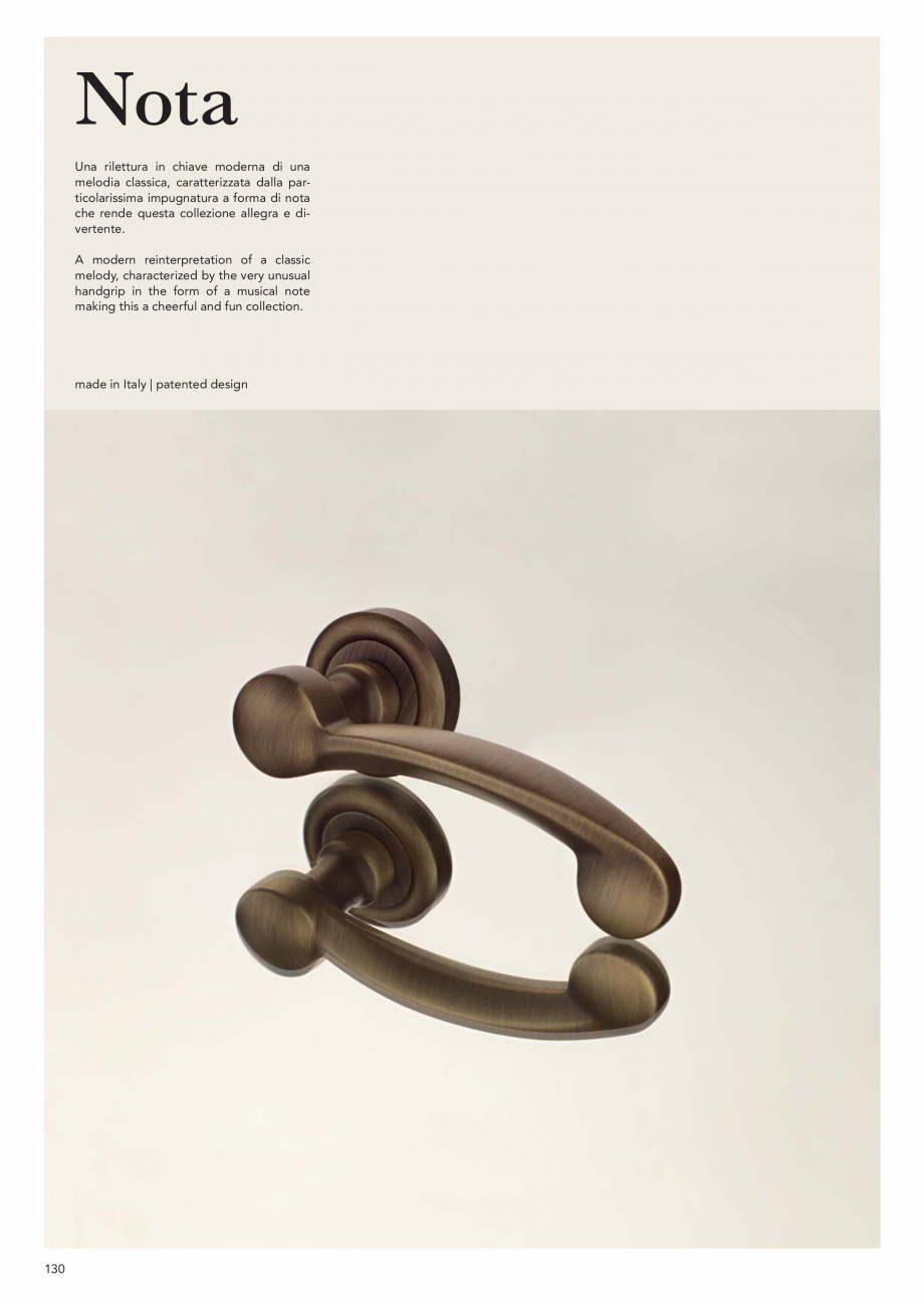 Pagina 132 - Catalog Linea CALI 2019 DALI BUSINESS Catalog, brosura Engleza, Italiana mm  268 B5...