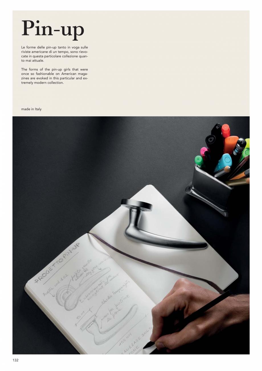 Pagina 134 - Catalog Linea CALI 2019 DALI BUSINESS Catalog, brosura Engleza, Italiana   260 mm 47 mm...