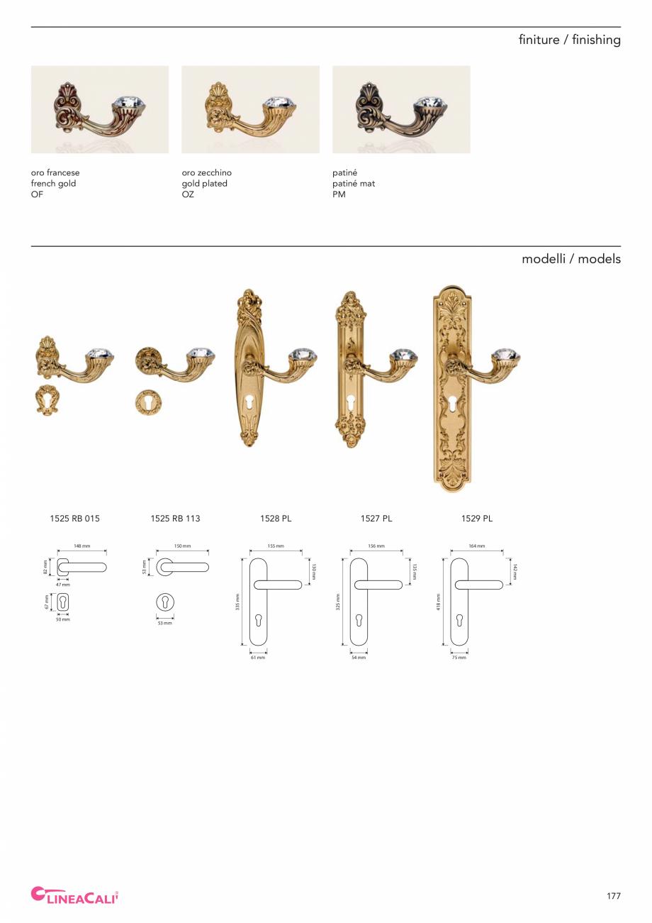 Pagina 179 - Catalog Linea CALI 2019 DALI BUSINESS Catalog, brosura Engleza, Italiana