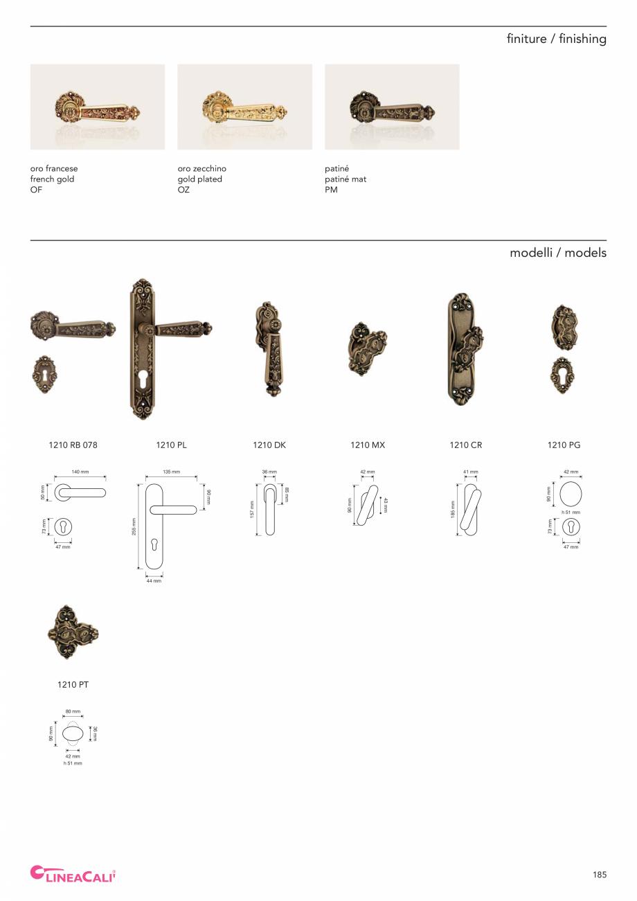 Pagina 187 - Catalog Linea CALI 2019 DALI BUSINESS Catalog, brosura Engleza, Italiana