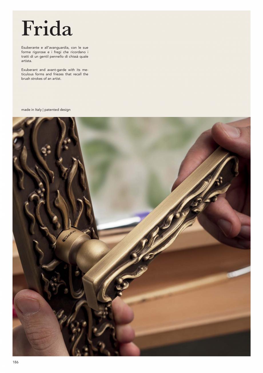 Pagina 188 - Catalog Linea CALI 2019 DALI BUSINESS Catalog, brosura Engleza, Italiana