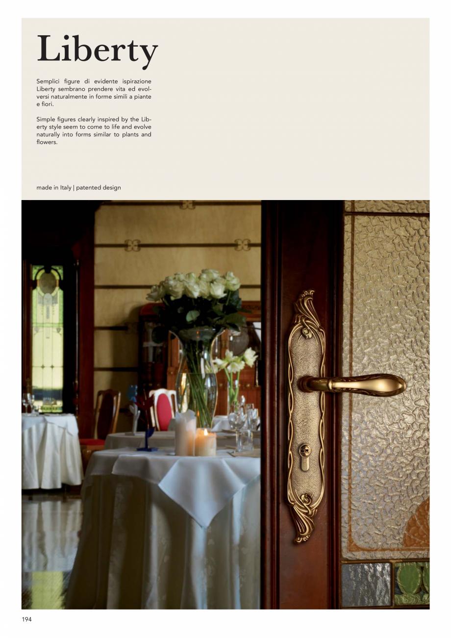 Pagina 196 - Catalog Linea CALI 2019 DALI BUSINESS Catalog, brosura Engleza, Italiana
