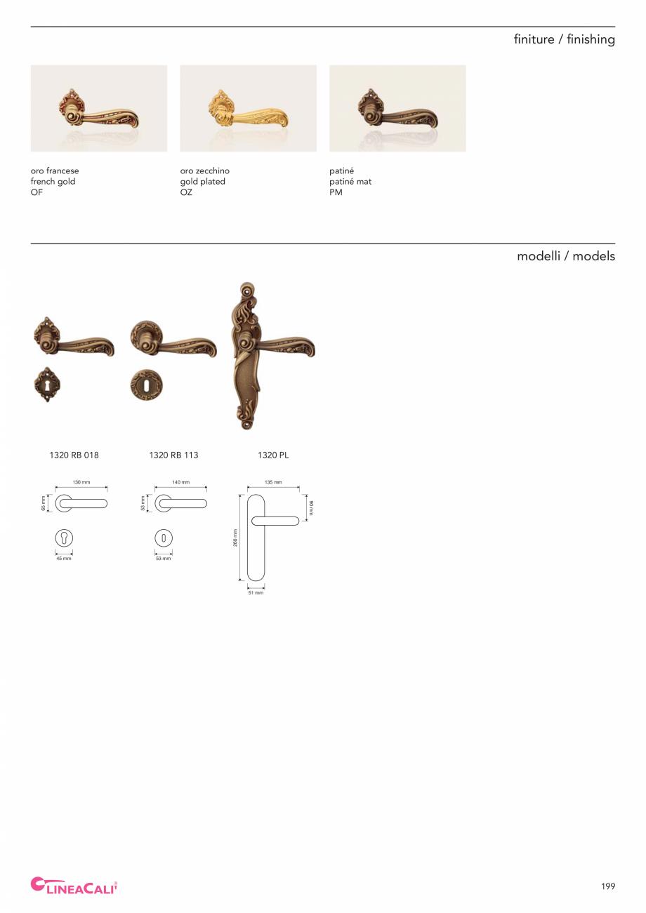 Pagina 201 - Catalog Linea CALI 2019 DALI BUSINESS Catalog, brosura Engleza, Italiana