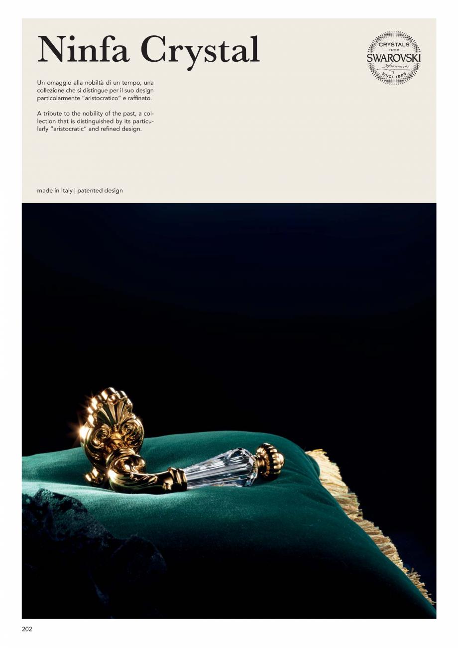 Pagina 204 - Catalog Linea CALI 2019 DALI BUSINESS Catalog, brosura Engleza, Italiana