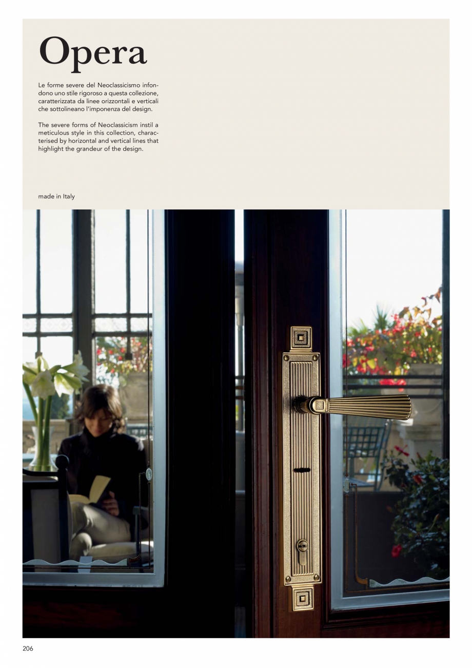 Pagina 208 - Catalog Linea CALI 2019 DALI BUSINESS Catalog, brosura Engleza, Italiana