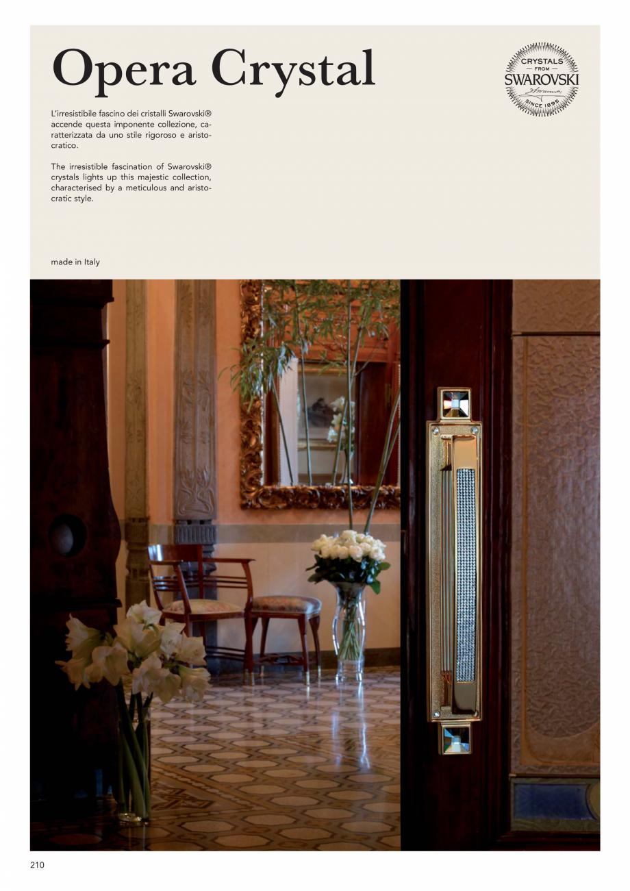 Pagina 212 - Catalog Linea CALI 2019 DALI BUSINESS Catalog, brosura Engleza, Italiana