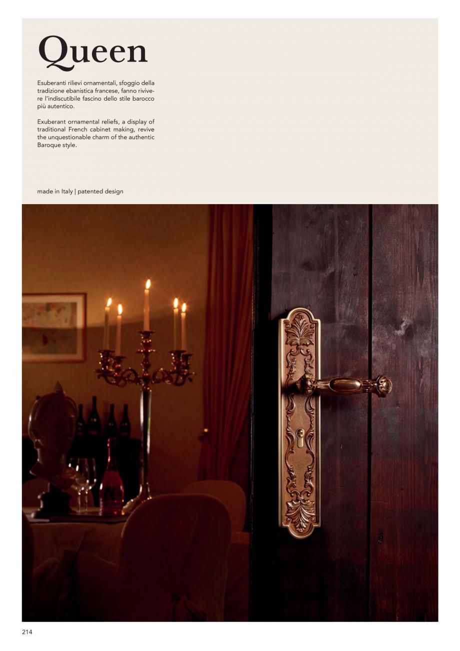Pagina 216 - Catalog Linea CALI 2019 DALI BUSINESS Catalog, brosura Engleza, Italiana