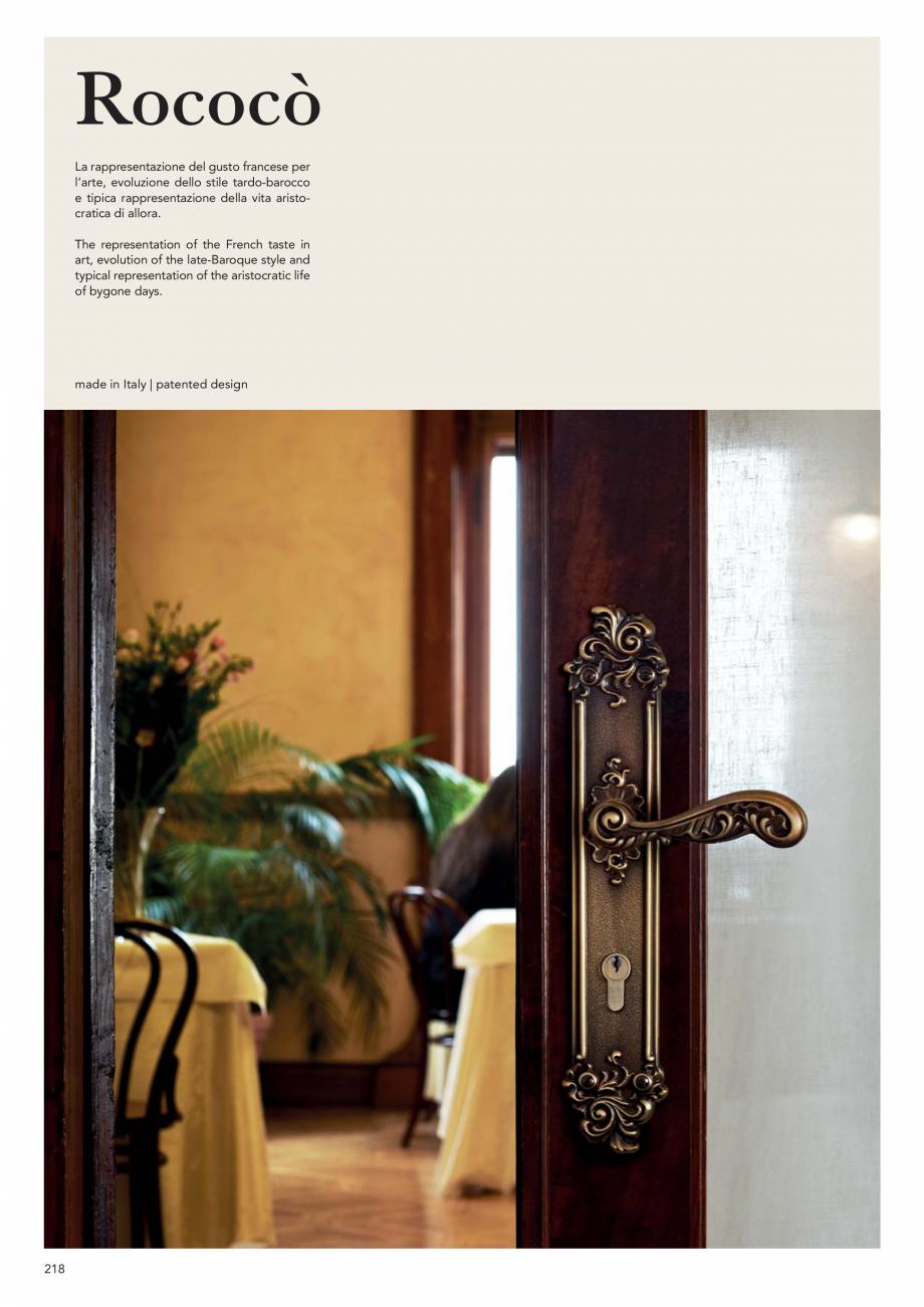 Pagina 220 - Catalog Linea CALI 2019 DALI BUSINESS Catalog, brosura Engleza, Italiana