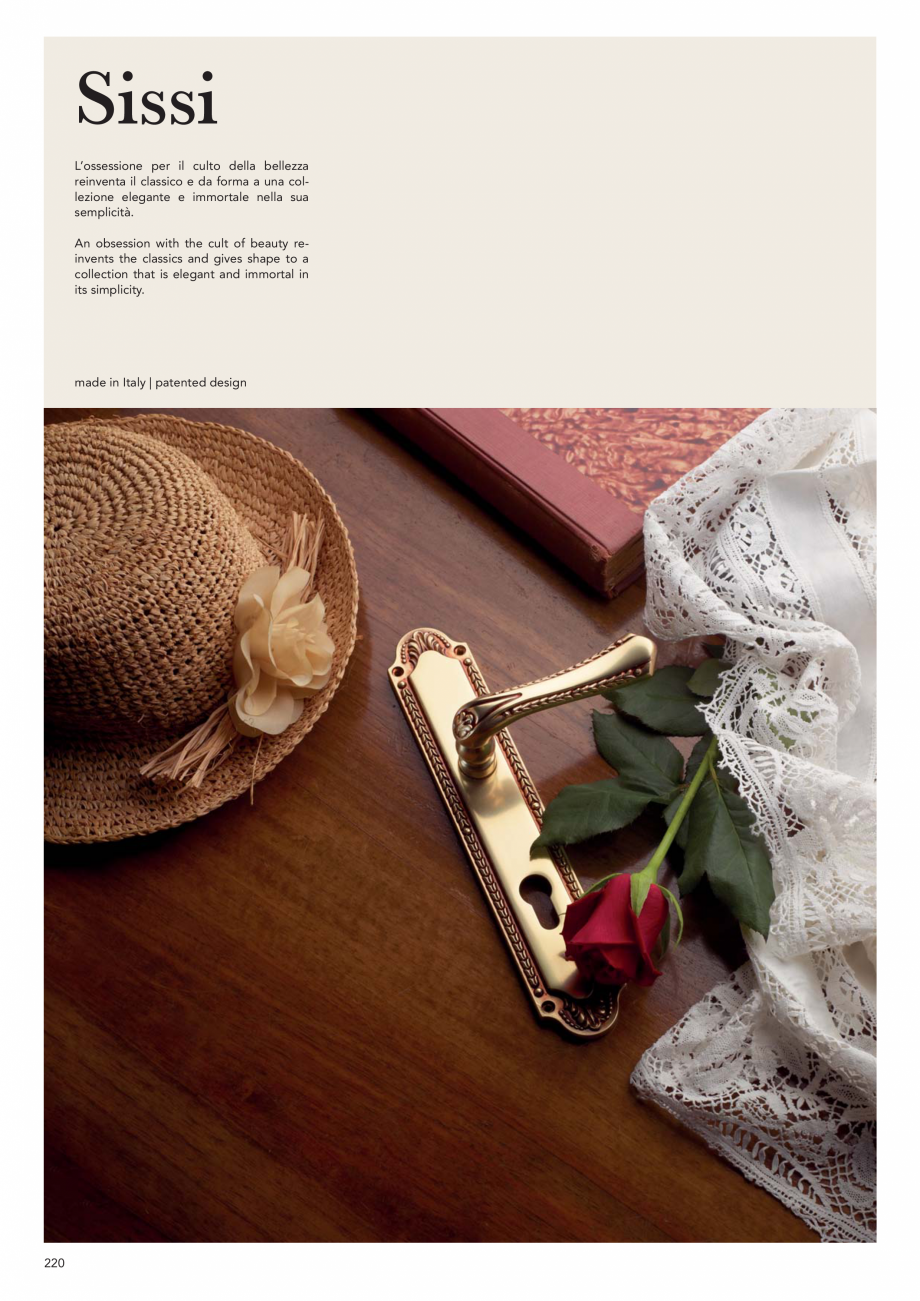 Pagina 222 - Catalog Linea CALI 2019 DALI BUSINESS Catalog, brosura Engleza, Italiana