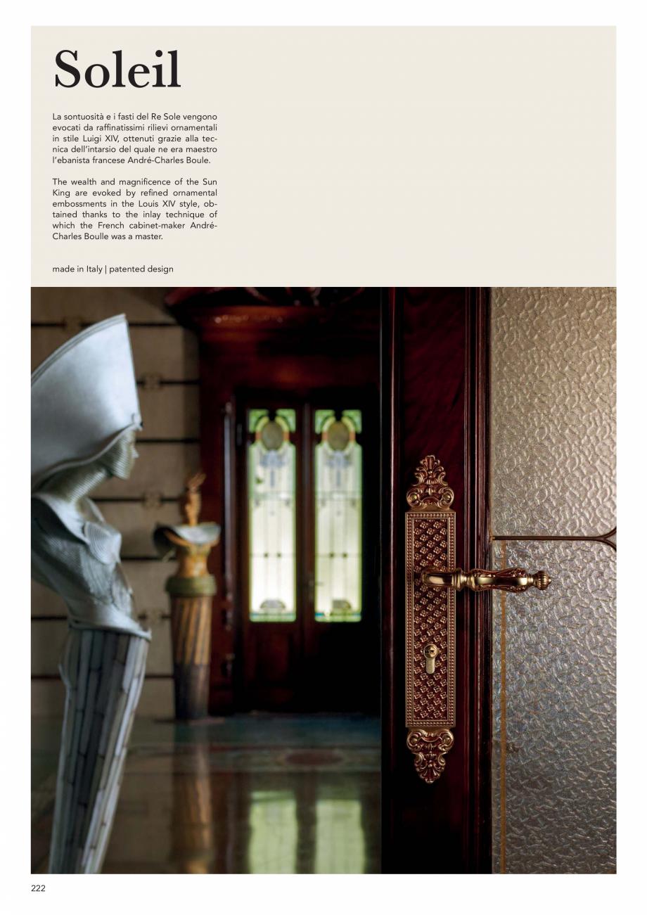 Pagina 224 - Catalog Linea CALI 2019 DALI BUSINESS Catalog, brosura Engleza, Italiana