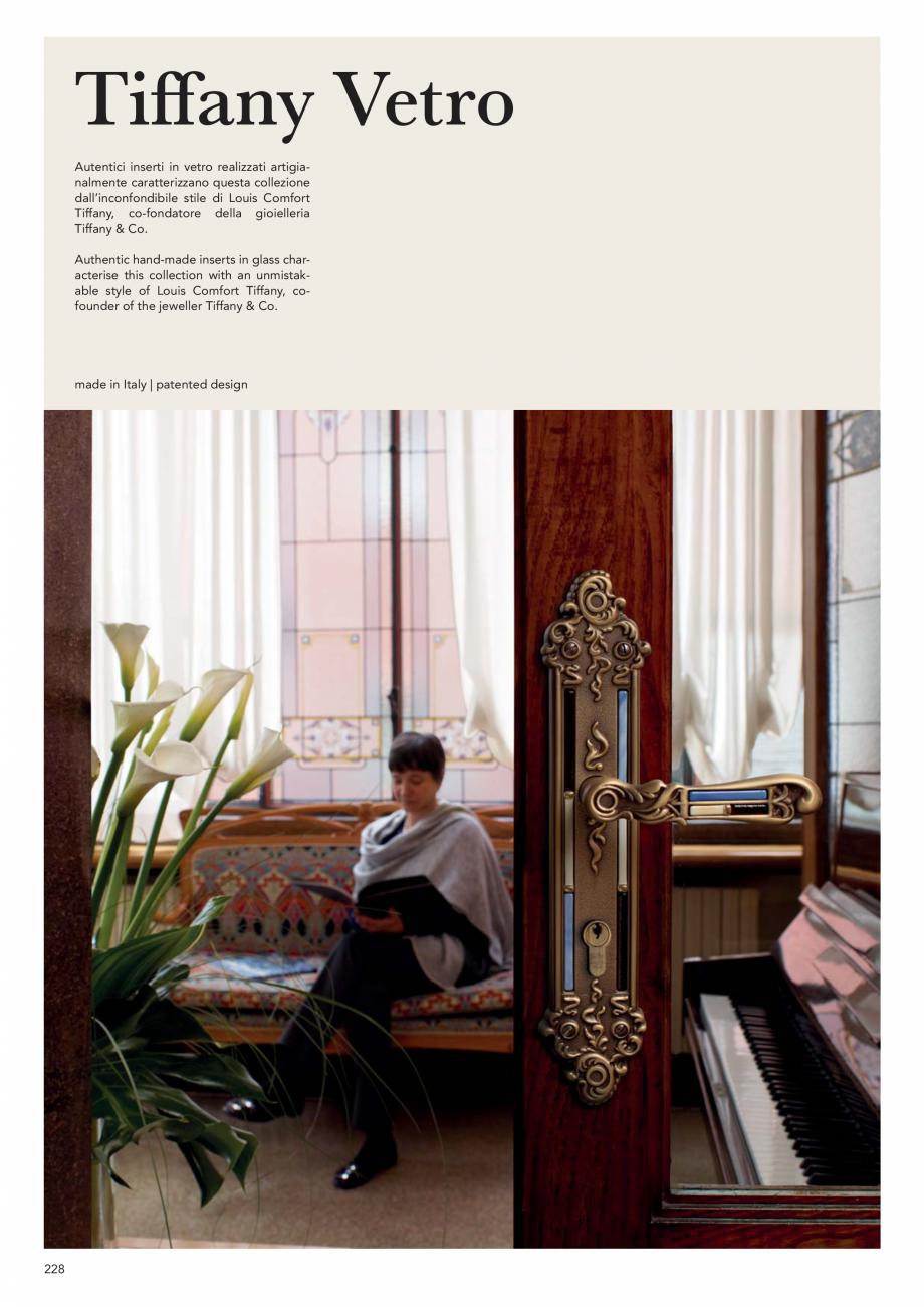 Pagina 230 - Catalog Linea CALI 2019 DALI BUSINESS Catalog, brosura Engleza, Italiana