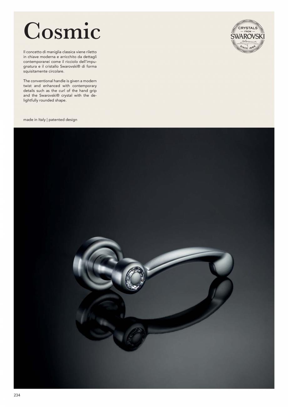 Pagina 236 - Catalog Linea CALI 2019 DALI BUSINESS Catalog, brosura Engleza, Italiana