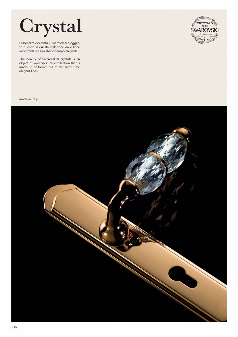 Pagina 238 - Catalog Linea CALI 2019 DALI BUSINESS Catalog, brosura Engleza, Italiana