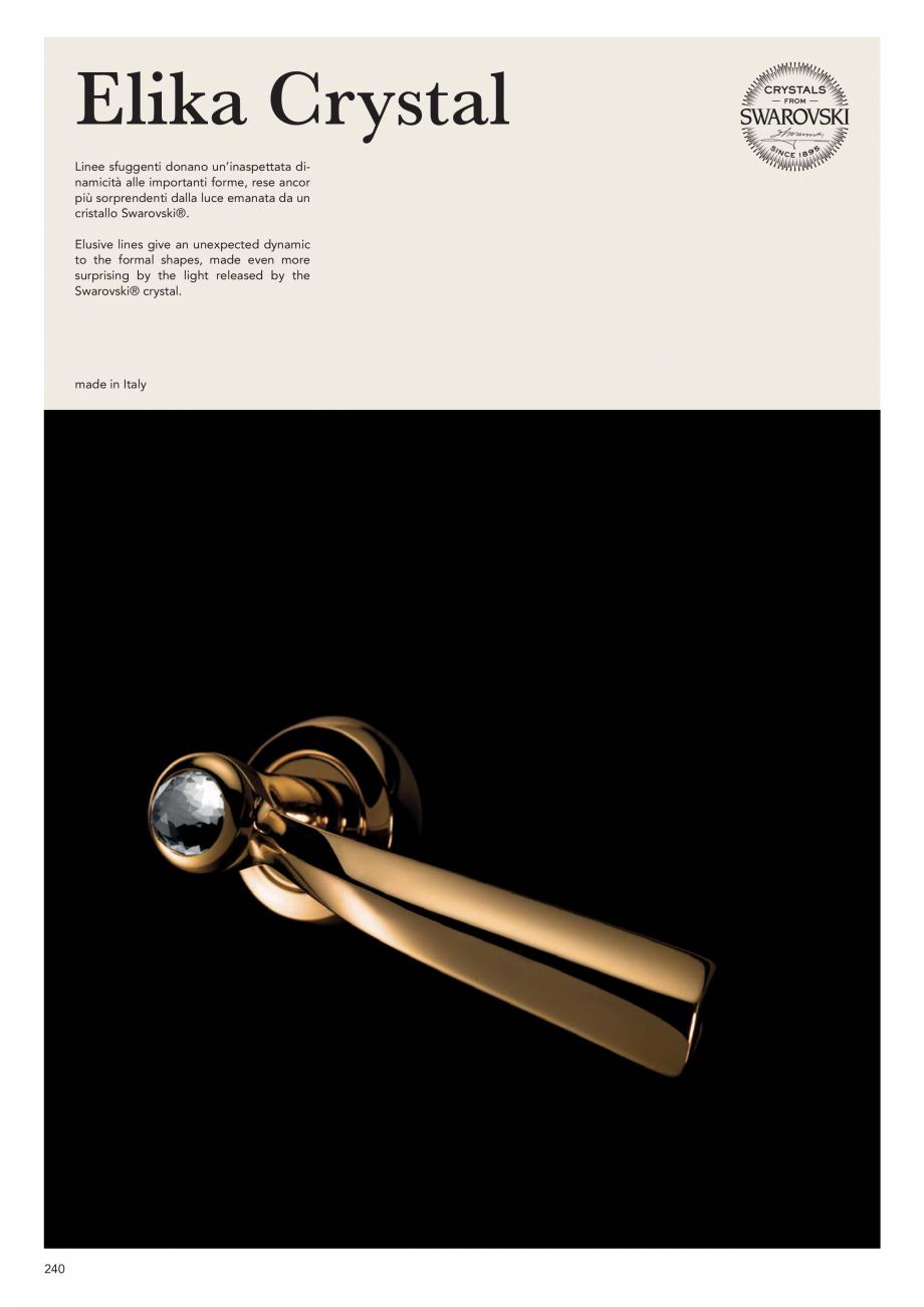 Pagina 242 - Catalog Linea CALI 2019 DALI BUSINESS Catalog, brosura Engleza, Italiana