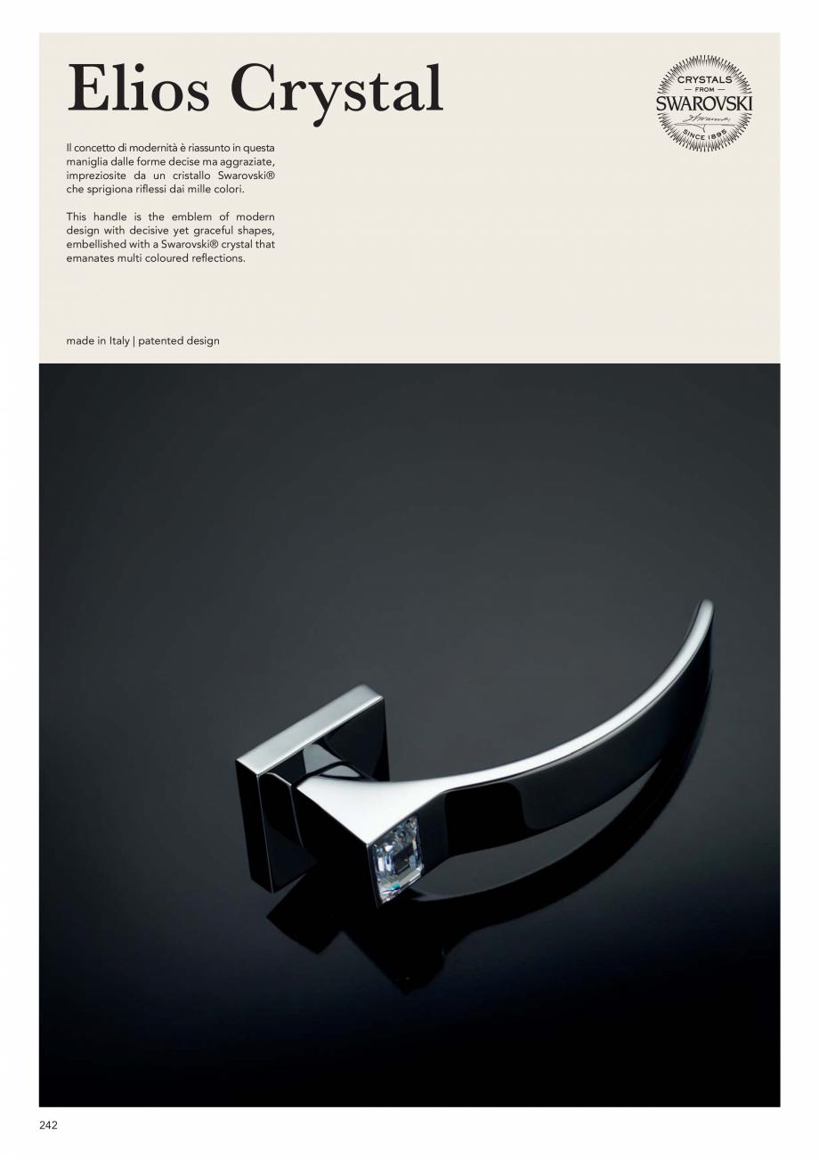 Pagina 244 - Catalog Linea CALI 2019 DALI BUSINESS Catalog, brosura Engleza, Italiana