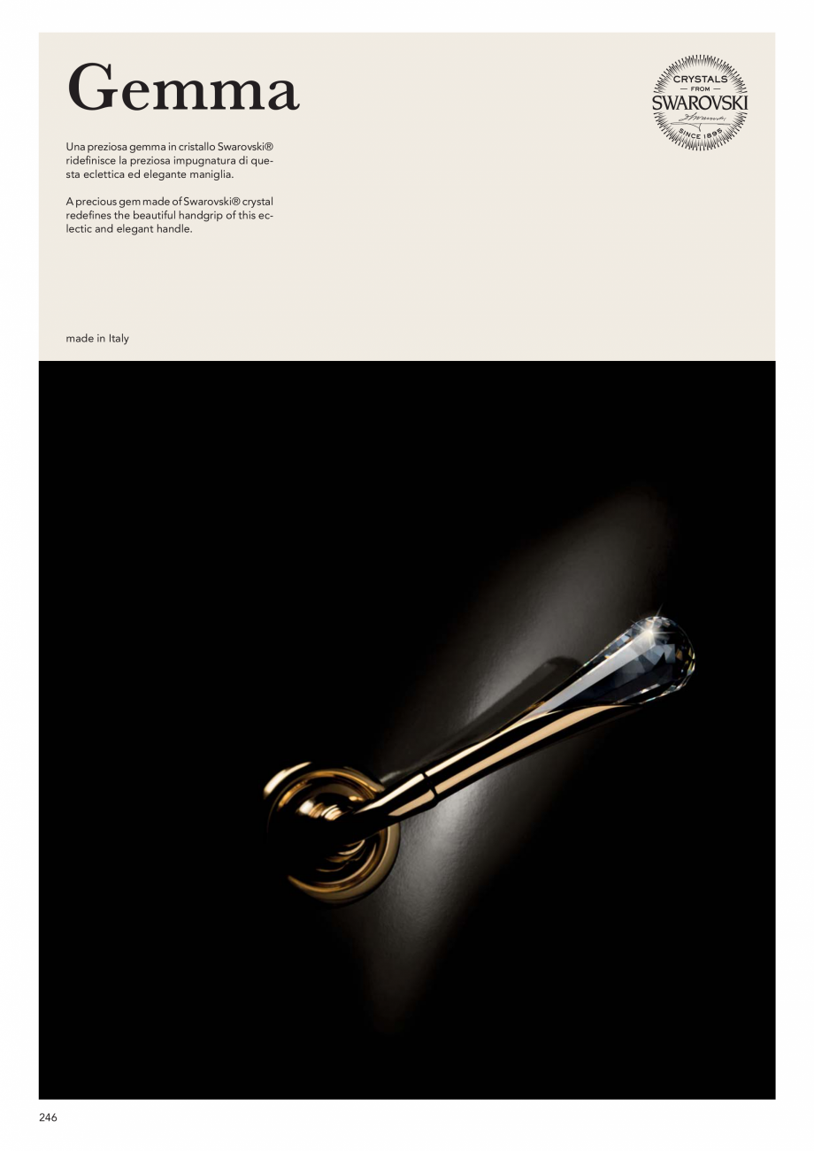 Pagina 248 - Catalog Linea CALI 2019 DALI BUSINESS Catalog, brosura Engleza, Italiana